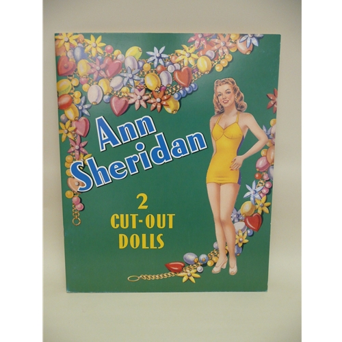 Ann Sheridan Paper Doll Book