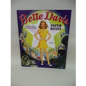 Paper Doll Book Bette Davis