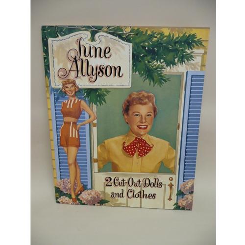 June Allyson Paper Doll