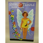 """SHIRLEY TEMPLE PAPER DOLLS IN MASQUERADE COSTUMES"""" BOOK"""
