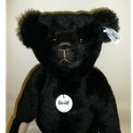 Black Steiff Club Bear