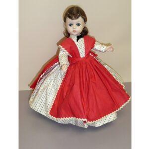 """Madame Alexander 12"""" Lissy Face Little Women, Jo"""