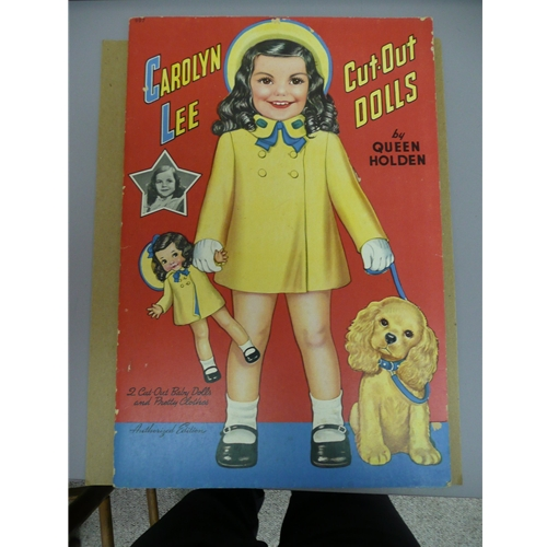Carolyn Lee Vintage Paper Doll Chicago IL