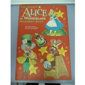 Vintage Paper Dolls, Alice in Wonderland