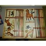 Vintage Paper Dolls, Hopalong Cassidy & Bar 20 Ranch