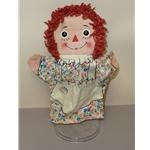 Vintage Raggedy Ann Puppet