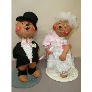 Bride & Groom Pair