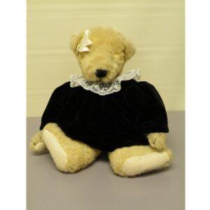 Fluffy, Velvet Dress