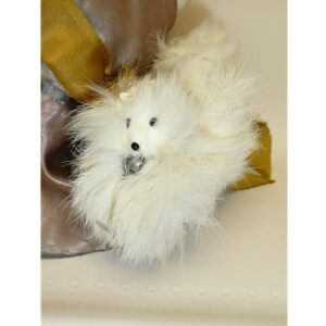 Fashion Fur Dog 4""