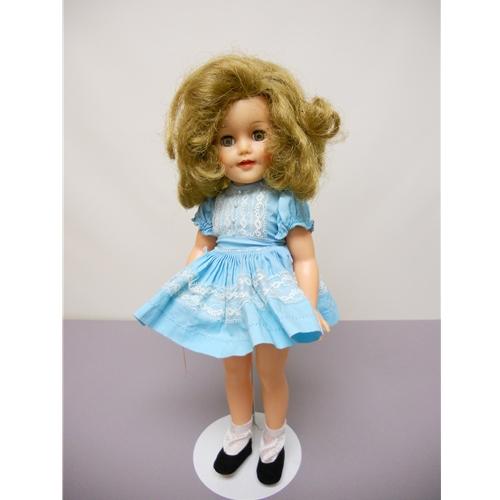 "Shirley Temple, 1957, 15"" original dress"