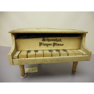 "Schoenhut ""Player Piano"" Music Box Doll Furniture Chicago IL"
