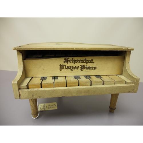 """Schoenhut """"Player Piano"""" Music Box Doll Furniture Chicago IL"""