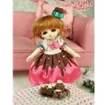 Ruby Red Galleria Ball Jointed Dolls in Chicago - Honee-B Chocolate Dolly