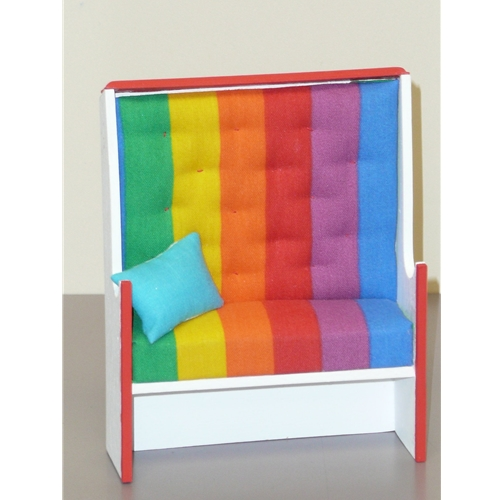 Circus High Back Chair by Ingrid Doll House Furniture Chicago