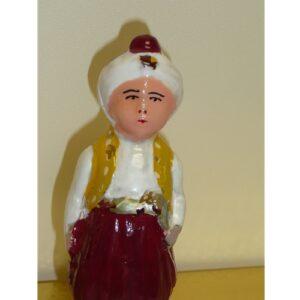 Aladin Glass Ornament in Red