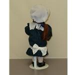 Yolanda Bello's Original Doll in Plaid