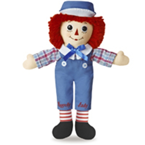Raggedy Andy by Aurora, 12""