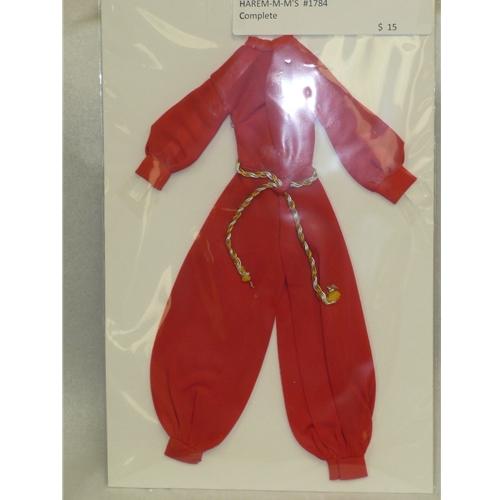 Barbie Harem-M-M's Costume