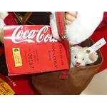 Steiff Coca-Cola Santa