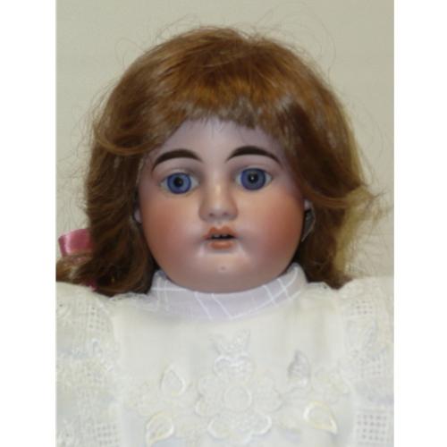 "German Doll on Kid Body, 19"""