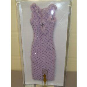 Tyler Lilac Angora Dress