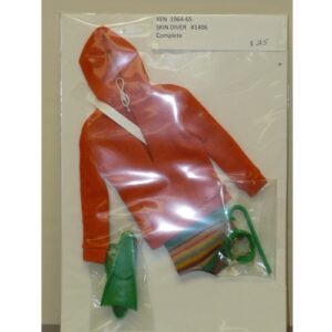 Ken Skin Diver Costume
