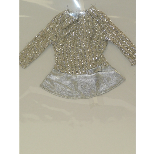 Barbie Short Silver Dress