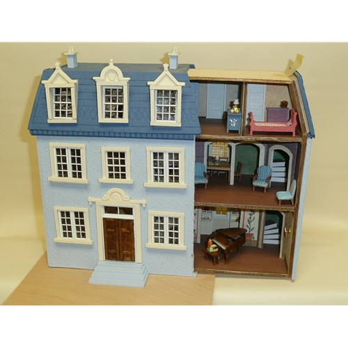 """1/4"""" Scale English Tudor Doll House For Sale in Chicago IL"""
