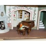 "1/4"" Scale English Tudor Doll House"