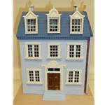 "1/4"" Scale English Tudor Doll House Chicago IL"