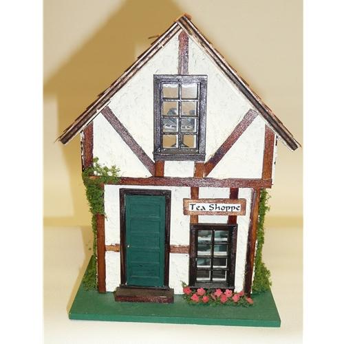 """1/4"""" Scale Miniature Tea Shoppe"""