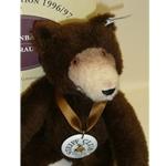 Steiff Dicky Bear in Alpaca