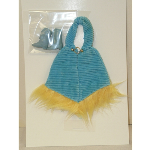 Francie Turquoise Cape & Boots