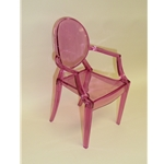 Pink Plastic Chair