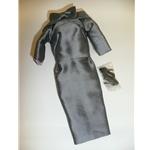 Dressmaker Details Couture Charcoal Grey Dress