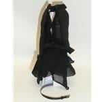 Integrity Sleeveless Black Dress & Belt