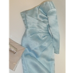 Integrity FR Pale Blue 2014 Convention Cold Shoulder Dress