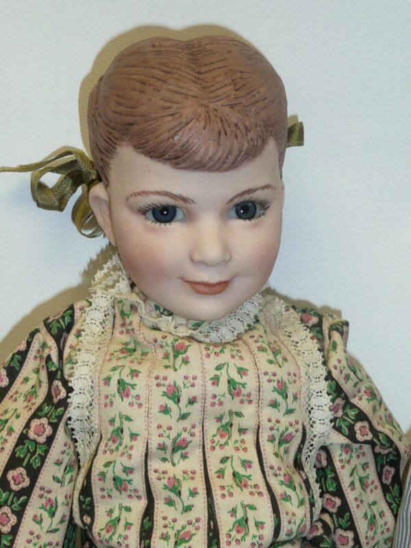 Martha Thompson 1950's Betsy Sheffield & Little Brother, NIADA Doll Artist-12486