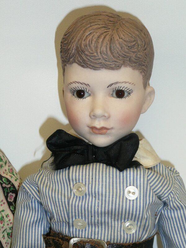 Martha Thompson 1950's Betsy Sheffield & Little Brother, NIADA Doll Artist-12489