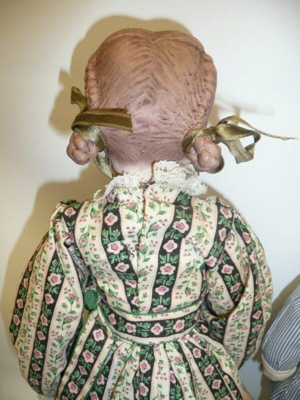 Martha Thompson 1950's Betsy Sheffield & Little Brother, NIADA Doll Artist-12487