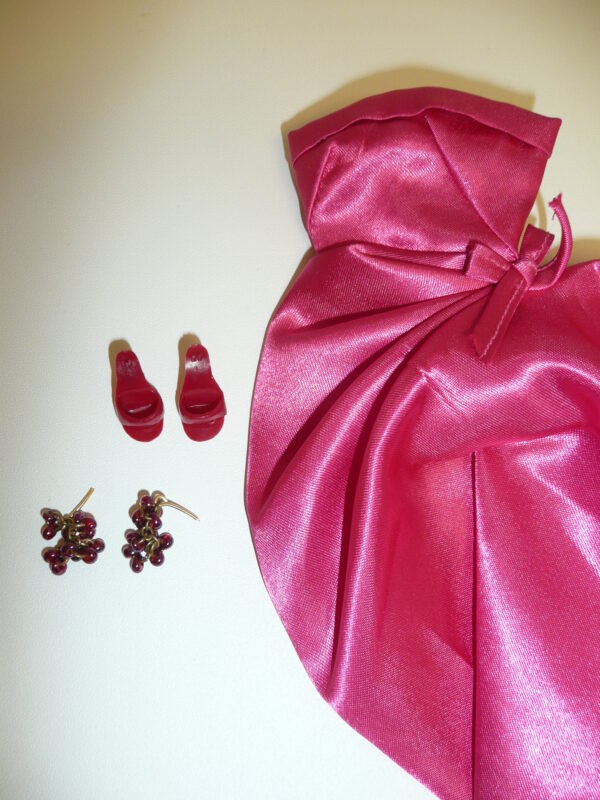 Integrity Size Dressmaker Details Fuschia Dress & Accessories-12651