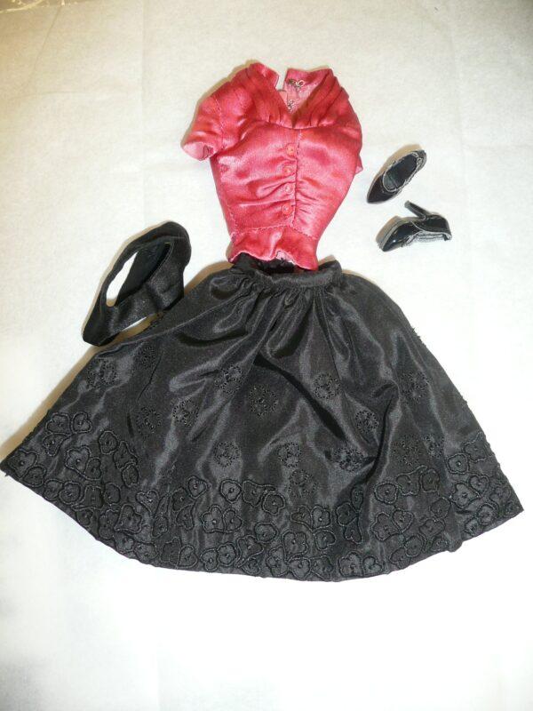 Integrity Polished Korrine Skirt, Top & Shoes-0