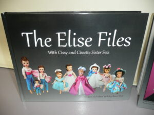The Elise Files Book with Cissy and Cissette Sister Sets by Kiley Ruwe Shaw-0