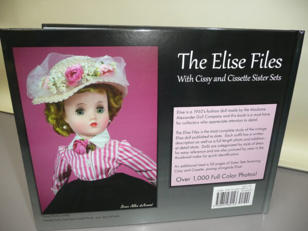 The Elise Files Book with Cissy and Cissette Sister Sets by Kiley Ruwe Shaw-13575