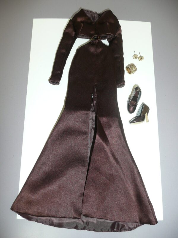 Integrity Color Infusion Brown Dress -0