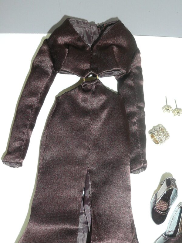 Integrity Color Infusion Brown Dress -13534