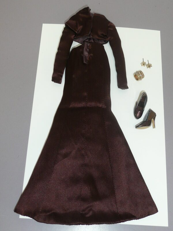 Integrity Color Infusion Brown Dress -13538