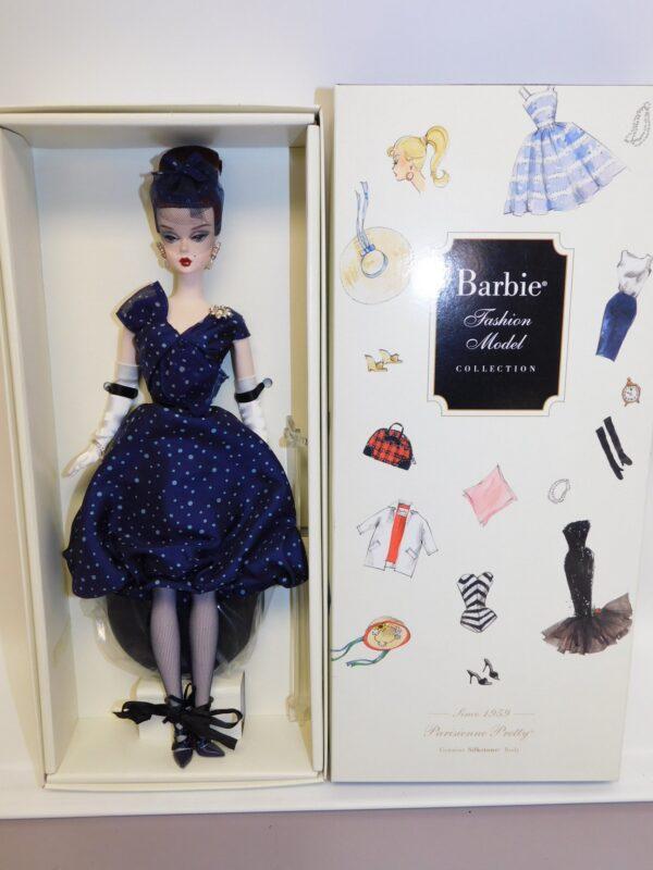 Mattel Silkstone Barbie Parisienne Pretty -13396