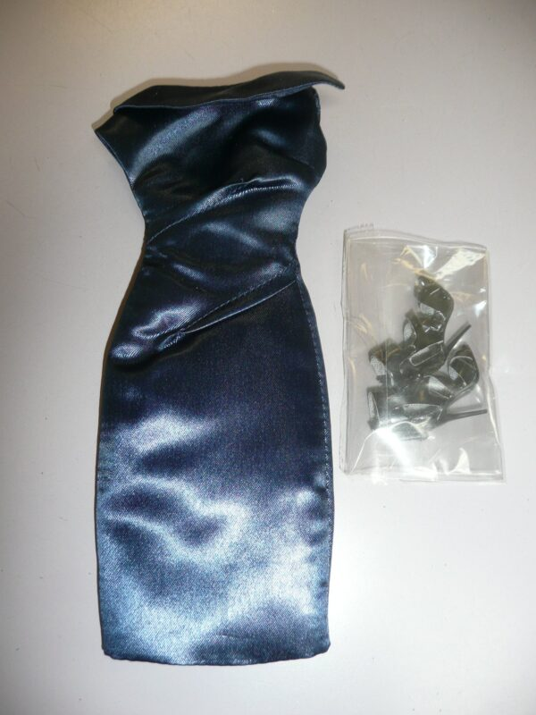 Integrity IBTE Midnight Blue Dress With Shoes-0
