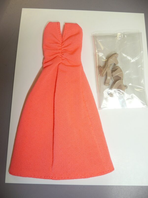 Integrity IBTE Coral Dress With Shoes-14391